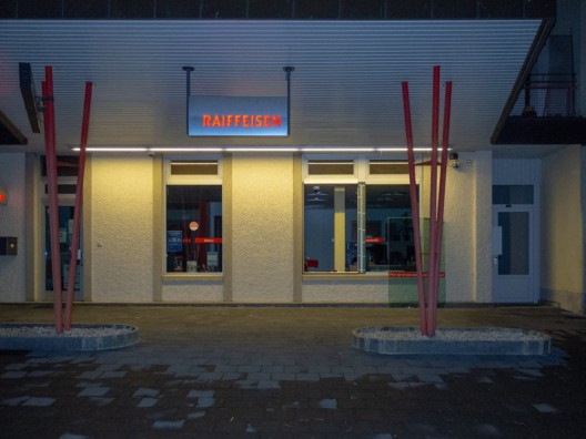 Fahy JU: Einbruch bei der Raiffeisenbank