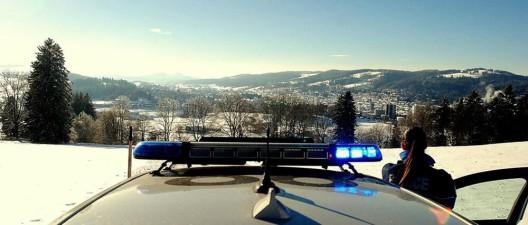Neuenburg NE: Verkehrsunfall auf A5 - Sachschaden