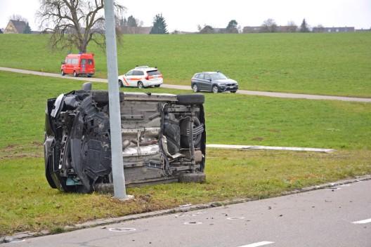 Ellighausen TG: 15-jähriger Velofahrer bei Unfall tödlich verletzt