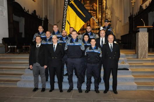 Altdorf UR: Feierliche Inpflichtnahme und Beförderung bei der Kantonspolizei Uri