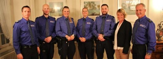 Regionalpolizei Zofingen: Jahresabschluss mit fünf Beförderungen