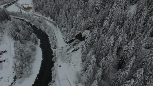Kanton Graubünden: Engadinerstrasse wegen Felssturz gesperrt
