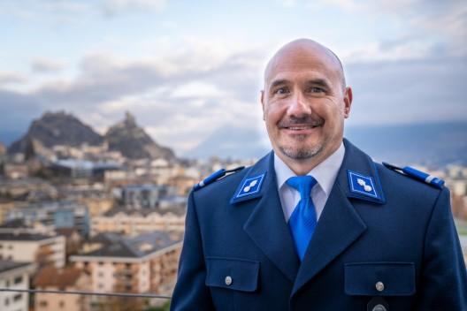 Kanton Wallis: Philipp Truffer ist neuer Stellvertreter des Chefs der Gendarmerie