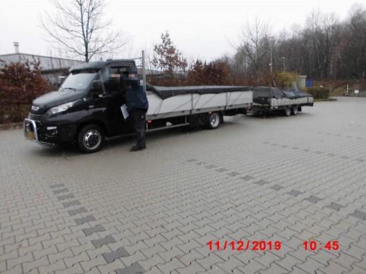 Schrotthändler um fünf Tonnen überladen