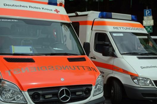 82-jährige Radfahrerin bei Unfall schwer verletzt