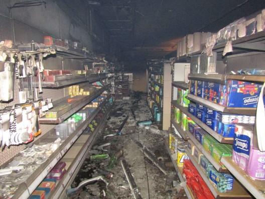 Bilten GL: Brandfall in Supermarkt – Zeugen gesucht