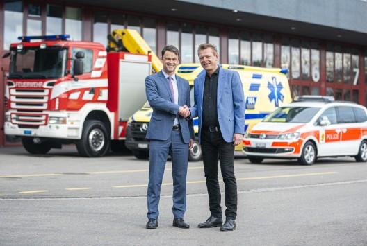 Bern BE: Gemeinsame Einsatzzentrale für Polizei, Feuerwehr und Rettungsdienste