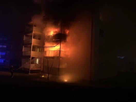 Schaffhausen SH: Brand in Mehrfamilienhaus fordert mehrere Verletzte