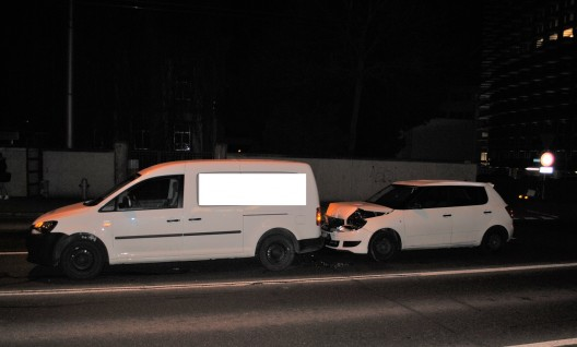 Schaffhausen SH: Auffahrkollision zwischen zwei PWs – niemand verletzt