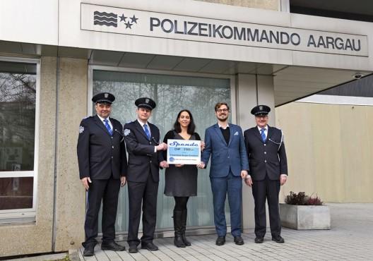 Spiel der Kantonspolizei Aargau: Kollekte der Kirchenkonzerte für guten Zweck