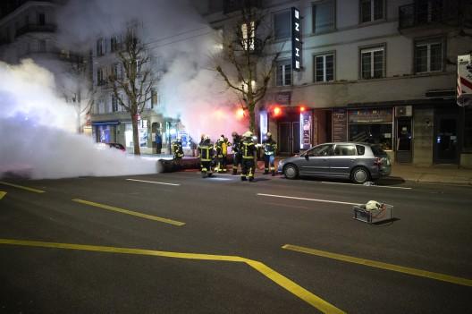 Freiburg FR: Brand in einer öffentlichen Gaststätte ausgebrochen