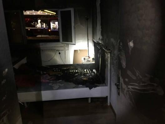 Givisiez FR: Eine Kerze entzündete eine Wohnung
