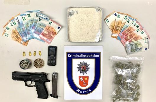 Polizei nimmt 24-jähriger Drogenhändler in Fußgängerzone