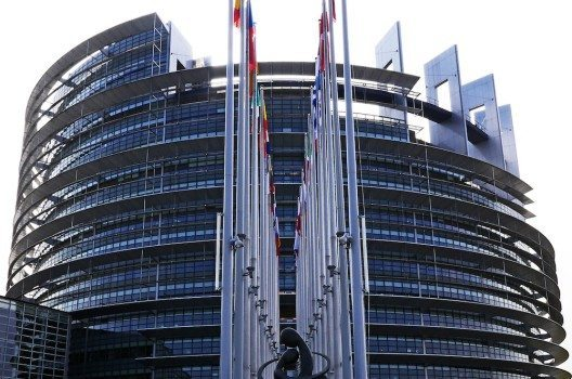 Das EU-Parlament in Strassburg.