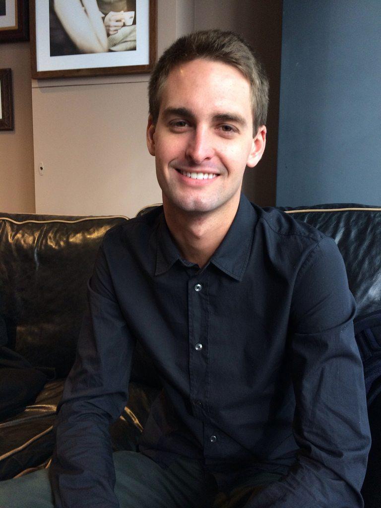 Evan Spiegel im November 2013.