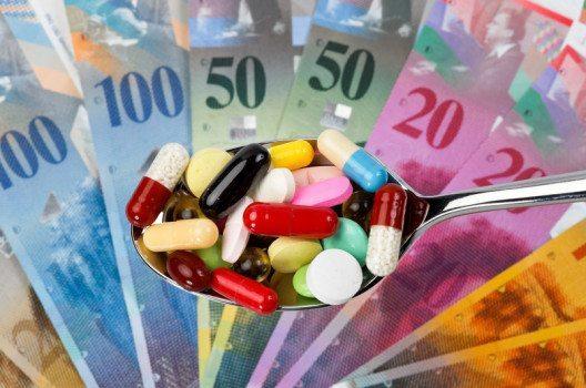 Ein Milliardengeschäft: die Pharmaindustrie.