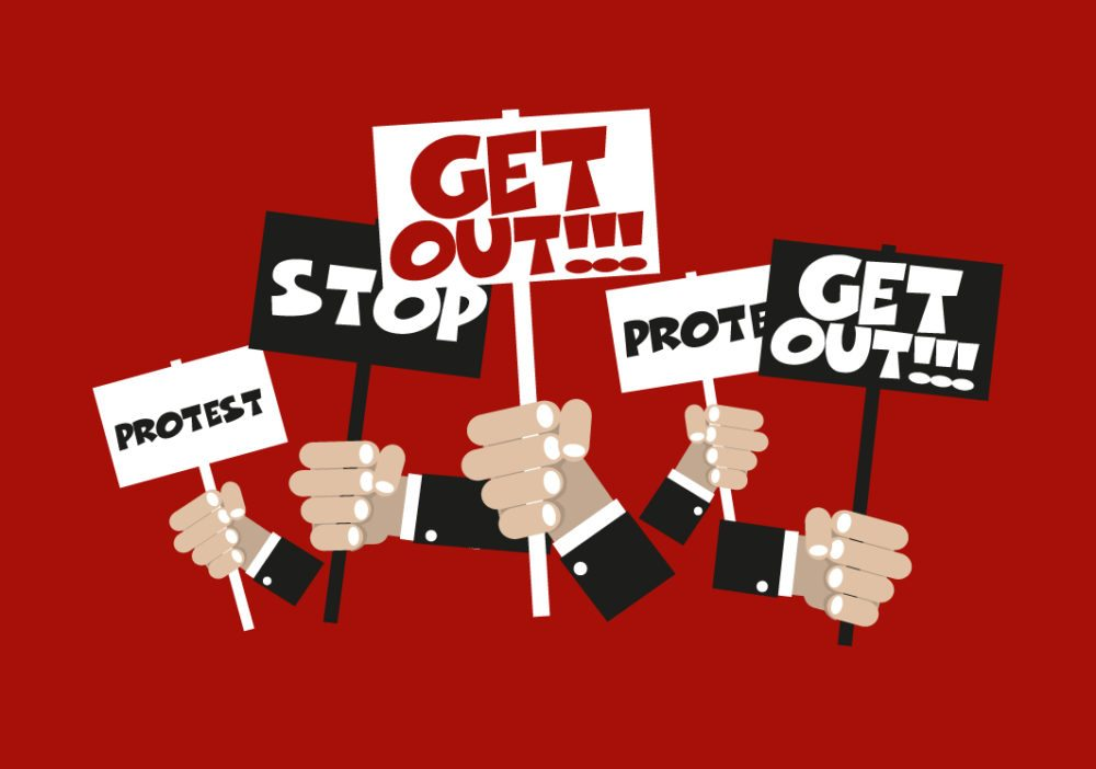 Mit den Demonstrationen gehen die Jungpolitiker gegen das Bundesgesetz über die Überwachung im Post- und Fernmeldewesen, kurz Büpf, vor. (Bild: Zygotehaasnobrain / Shutterstock.com)