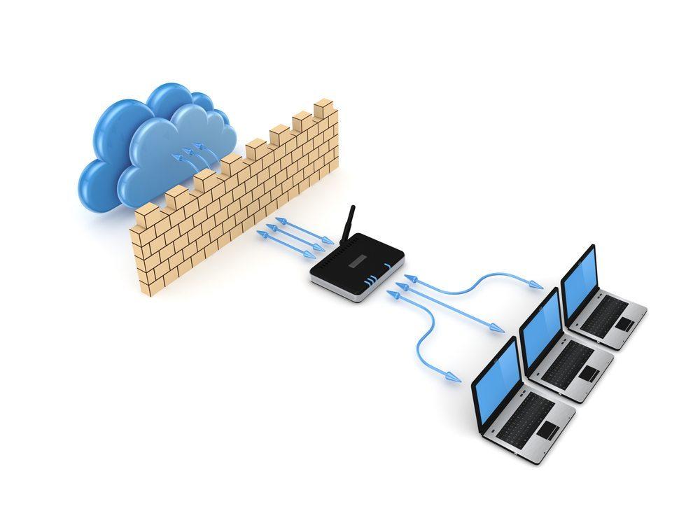 Eine Firewall ist eine sehr gute Möglichkeit, seine Daten zu schützen. (Bild: 3Dstock / Shutterstock.com)