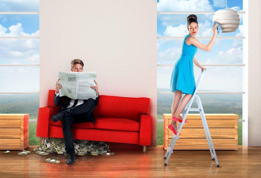 Der Lohnabstand zwischen Männern und Frauen ist mit derzeit durchschnittlich 18,9 % gewachsen. (Bild: TijanaM / Shutterstock.com)