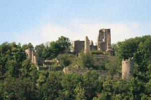 Burg Schenkenberg: imposante Ruine