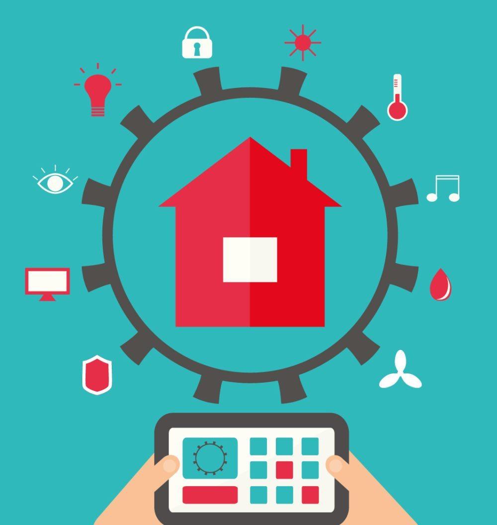 Smart Home vernetzt technische Geräte. (Bild: Shagaleeva Valentina / Shutterstock.com)