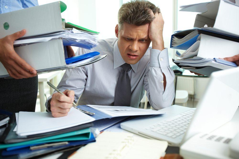 Stress und Hektik sind keine guten Begleiter im Job. (Bild: Pressmaster / Shutterstock.com)