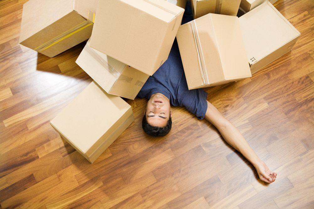 Dreimal umziehen ist wie einmal abgebrannt. (Bild: © Diego Cervo - shutterstock.com)