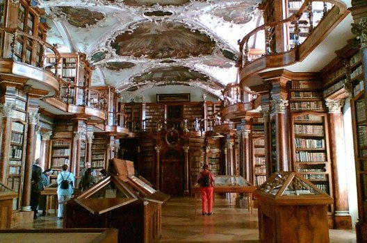 Stiftsbibliothek St. Gallen (Bild: chippee, Wikimedia, CC)