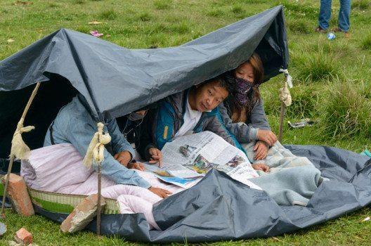 Nahrungsmittel und Trinkwasser werden in Nepal langsam knapp. (Bild: Dutourdumonde Photography / Shutterstock.com)