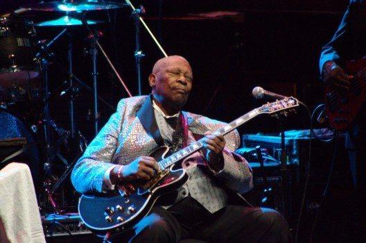 Blues-Legende B. B. King ist verstorben.