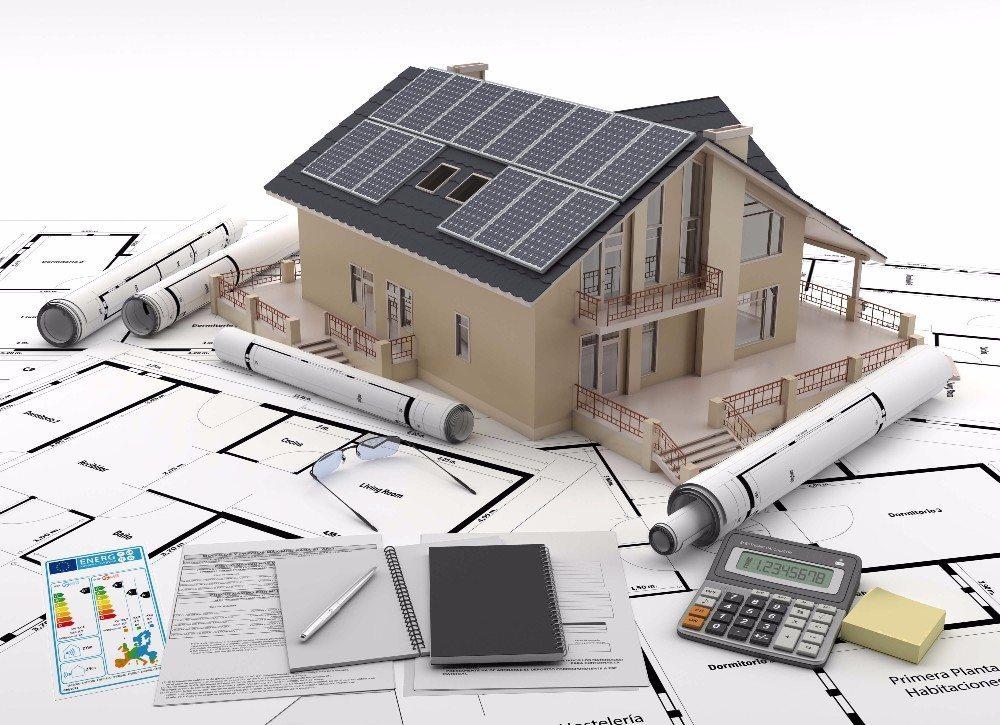 Mit einem Passiv- oder Niedrigenergiehaus kann man steigenden Energiekosten gelassen entgegenblicken. (Bild: © yulyla - fotolia.com)