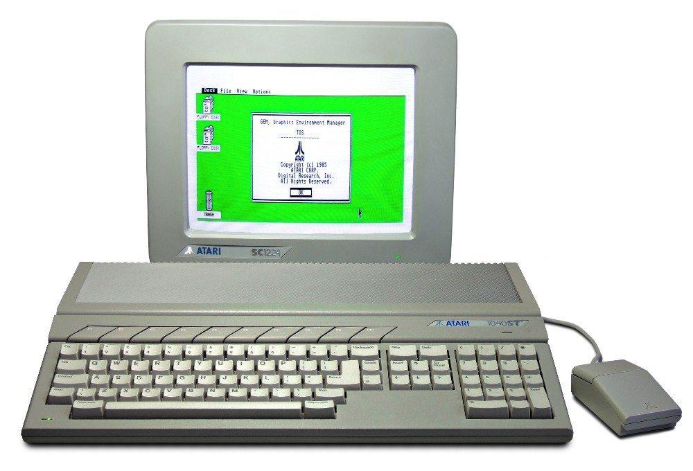 Der Atari ST ist mittlerweile ein Inbegriff der produktiven Technikverweigerung (Bild: © Bill Bertram - CC BY-SA 2.5)