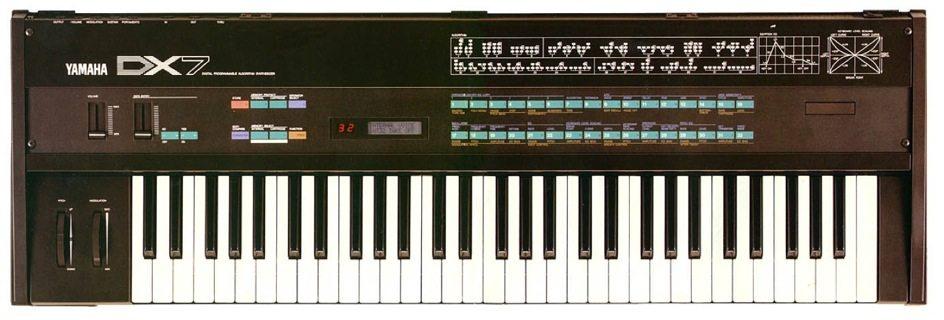 Der Yamaha DX7, der erfolgreichste Synthesizer aller Zeiten. (Bild: © Finnianhughes101)