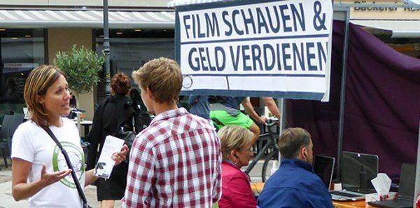 Aufklärungsaktion über Tierversuche in Winterthur (Bild: © www.agstg.ch)