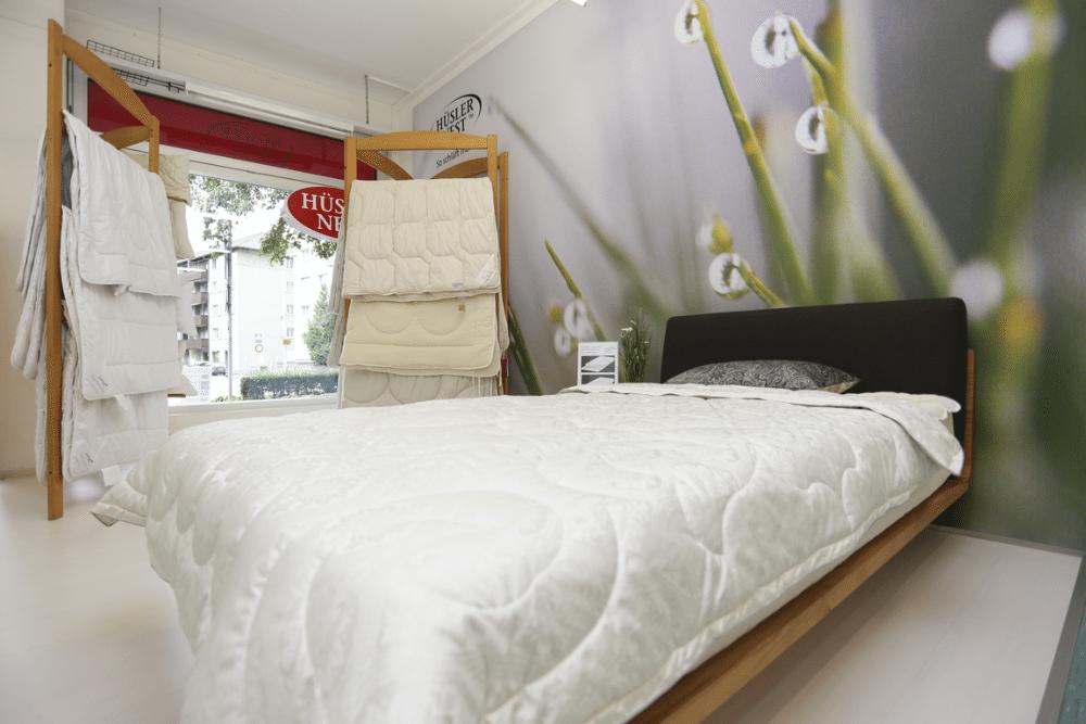 Das richtige Bett für jeden Bedarf - im Hüsler Nest Center Chur.