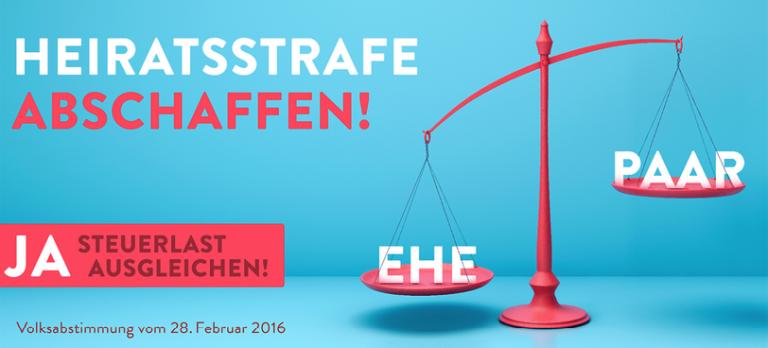 feature post image for Die Heiratsstrafe soll bald abgeschafft werden!