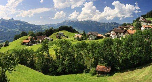 Der Wald in Liechtenstein ist grossteils intakt. (Bild: © Michal Zduniak - shutterstock.com)