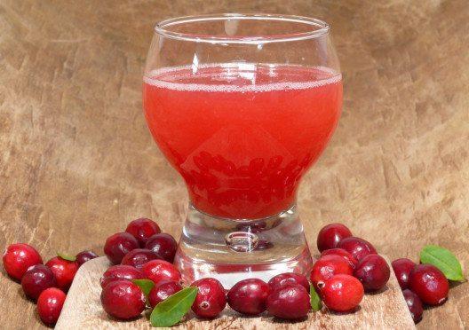 Cranberrysaft soll antibakteriell wirken und Harnwegsinfekte vorbeugen. (Bild: TwilightArtPictures – Shutterstock.com)