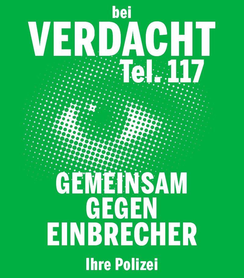 Aktuelle Präventionskampagne. Weitere Informationen zum Thema unter www.polizei.so.ch → Prävention.