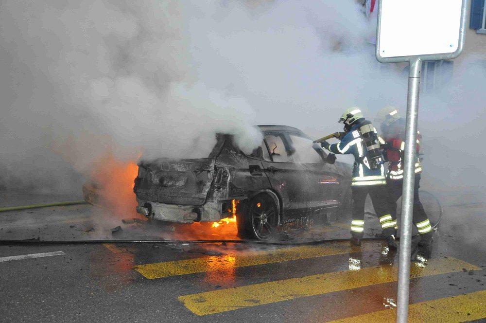 Der Brand konnte durch die ausgerückte Feuerwehr der Stadt Grenchen gelöscht werden.