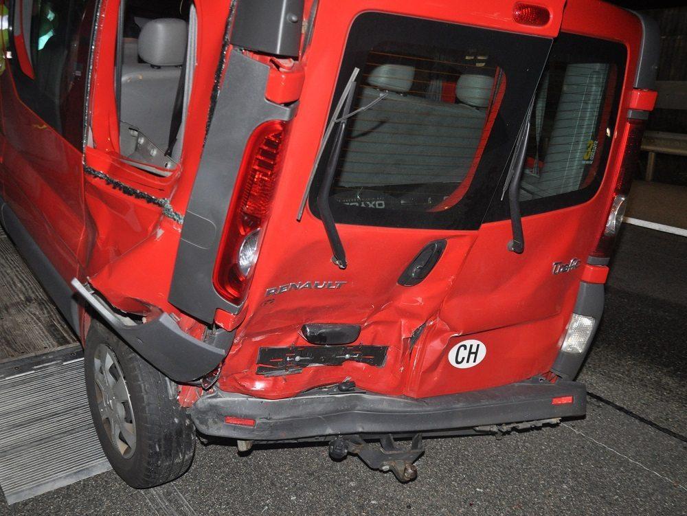 Drei Fahrzeuge erlitten Totalschaden (Bild: © Kantonspolizei Solothurn)