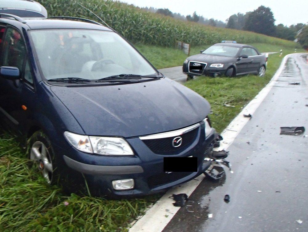 Bilder von der Unfallstelle