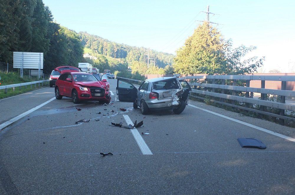 Bilder vom Unfallort (Bild: © Kantonspolizei St.Gallen)