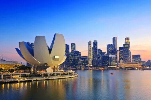 Platz 2: Singapur (Bild: © Noppasin - shutterstock.com)