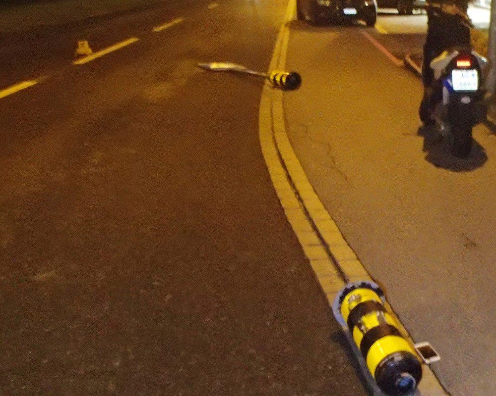 In Muhen ist ein 18-jähriger Rollerfahrer schwer gestürzt.