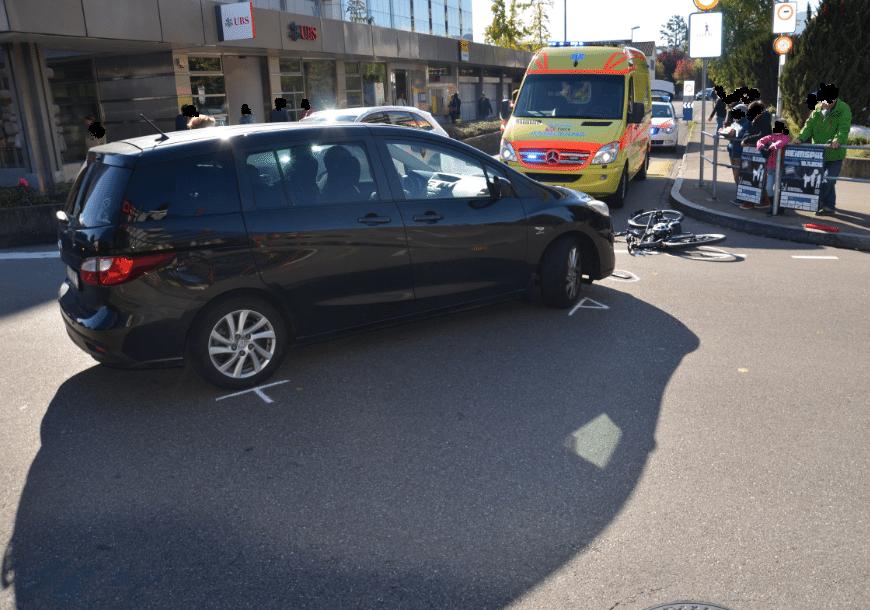 Unfall in Reinach BL