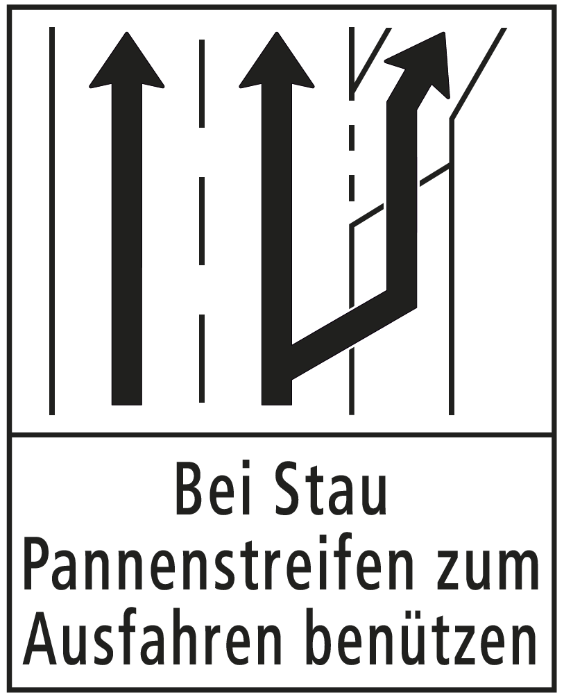 Signaltafel (Bild: © Kapo Zürich)