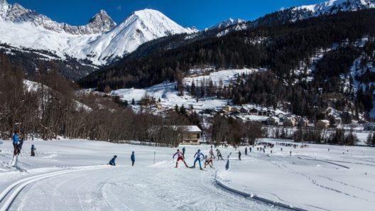 Langlauf-Wettbewerb (Bild: Savognin Tourismus im Surses)