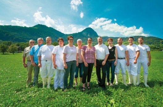 Team, Molkerei-Käserei Schnider AG