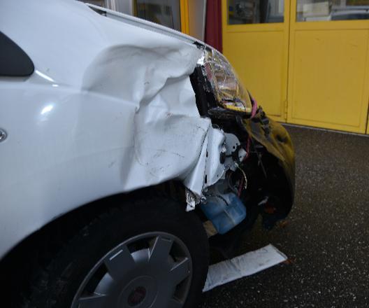 Triesen (FL): Beim Rückwärtsfahren Unfall verursacht